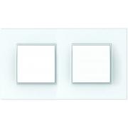 Рамка 2-я Unica Quadro Белый