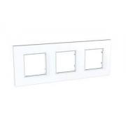 Рамка 3-я Unica Quadro Белый