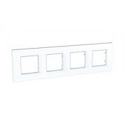 Рамка 4-я Unica Quadro Белый