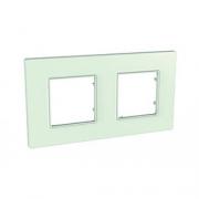 Рамка 2-я Unica Quadro Матовое стекло