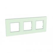 Рамка 3-я Unica Quadro Матовое стекло