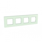 Рамка 4-я Unica Quadro Матовое стекло