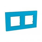 Рамка 2-я Unica Quadro Голубика