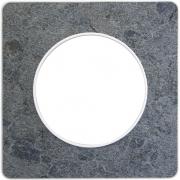Рамка Odace, 1-я Морской камень, вставка белая