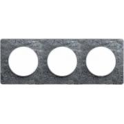 Рамка Odace, 3-я Морской камень, вставка белая