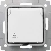 Розетка IP44, 16А, 250В, белая, Cariva