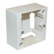 Коробка накладная Legrand Летен 82х82 открытой пр. для розетки 20А, 400V