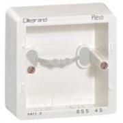 Коробка установочная Plexo IP44 открытой проводки, белая Plexo