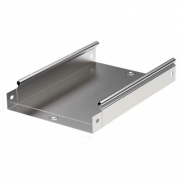 DKC Лоток оцинкованная сталь неперфорированный 300x80мм (1шт.-3м) (35065)