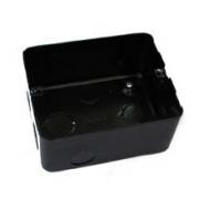 Монтажная коробка под заливку для лючков Legrand 4 модуля металлическая