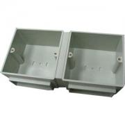 Монтажная коробка под заливку для лючков Legrand 6 (2х3) модулей пластик
