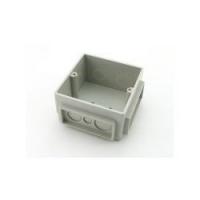 Монтажная коробка под заливку для лючков Legrand 3 модуля пластик