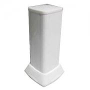 Миниколонна алюминиевая, 0.35м, цвет белый DKC