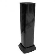Миниколонна алюминиевая, 0.5м, цвет чёрный DKC