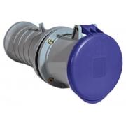 Розетка кабельная ABB IP44 63A 2P+E