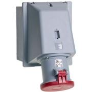 Розетка для накладного монтажа ABB IP44 63A 3P+N+E