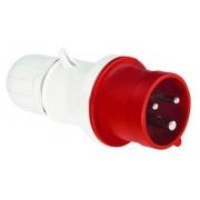 Вилка кабельная DKC Quadro IP44 16A 2P+E 230V