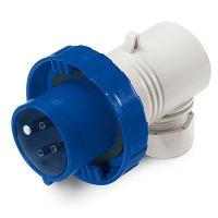 Вилка кабельная угловая DKC Quadro IP67 16А 3P+E 400В