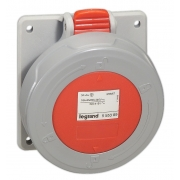 Розетка встраиваемая Legrand P17 16А 3К+З 380В IP67