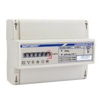 Счетчик электроэнергии трехфазный однотарифный ЦЭ6803В 60/5 Т1 D кл1 М7 Р31 230В 4-проводной (ЦЭ6803В 1 М7 Р31 5-60А)