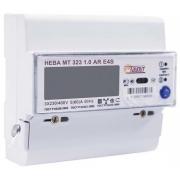 Счетчик электроэнергии трехфазный многотарифный (двухтарифный) Нева323 0.5 ARE4S Тр/5 Т4 D RS485 230В оптопорт ЖК