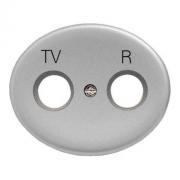 Розетка TV-R-SAT одиночная Tacto (Серебряный)