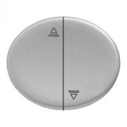 Кнопка для управления жалюзи с блокировкой одновременного включения 10А TACTO (Серебряный)