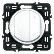 Светорегулятор Legrand Celiane 300Вт с лицевой панелью (белый)