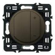 Светорегулятор Legrand Celiane 600Вт с лицевой панелью (графит)