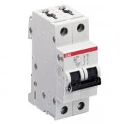 Автоматический выключатель 2-полюсный ABB S202 B6