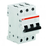 Автоматический выключатель 3-полюсный ABB S203 B6