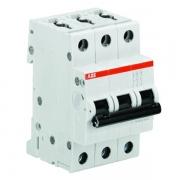 Автоматический выключатель 3-полюсный ABB S203 B63