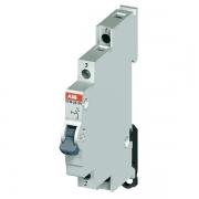 Модульный переключатель ABB E214-25-101 один переключающий контакт 25A (I-0-II)