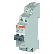 Модульный переключатель ABB E214-16-202 два переключающих контакта 16A (I-0-II)