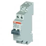 Модульный переключатель ABB E214-25-202 два переключающих контакта 25A (I-0-II)