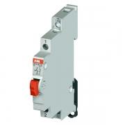Модульный кнопочный выключатель ABB E215-16-11C с красной кнопкой