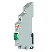 Модульный кнопочный выключатель ABB E215-16-11D с зеленой кнопкой