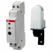 Реле освещенности ABB TW-1 c датчиком 1 диапазон регулирования