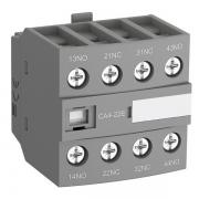 Блок контактный дополнительный ABB CA4-22E (2НО+2НЗ) для контакторов AF26…AF96..-30-00