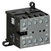 Миниконтактор ABB B6-30-10 9A (400В AC3) катушка 230В АС