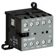 Миниконтактор ABB B6-40-00 9A (400В AC3) катушка 24В АС