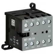 Миниконтактор ABB B7-30-01 12A (400В AC3) катушка 24В АС