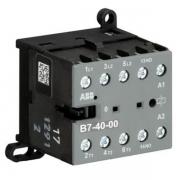 Миниконтактор ABB B7-40-00 12A (400В AC3) катушка 24В АС