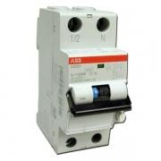 Дифференциальный автоматический выключатель ABB серии DS201 10a 30мА