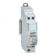 Импульсное реле Legrand CX3 230V 1F 16A бесшумное с задержкой откл. 5-60 мин.