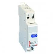 Индикатор модульный Legrand с одной лампой, синий рассеиватель