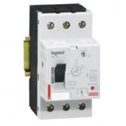 Автомат для защиты электродвигателя Legrand 4A термомагнитный расцепитель