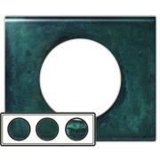 Рамка Legrand Сeliane трехместная (патина медь)