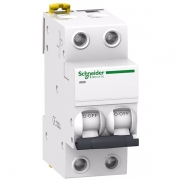 Автоматический выключатель Schneider Electric Acti 9 iK60 2П 6A 6кА C