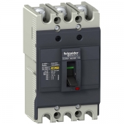 Автоматический выключатель Schneider Electric EZC100F 100A 10кА/400В 3П3T